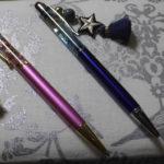静電気放電用アクセ付ハーバリウムボールペン 2種類